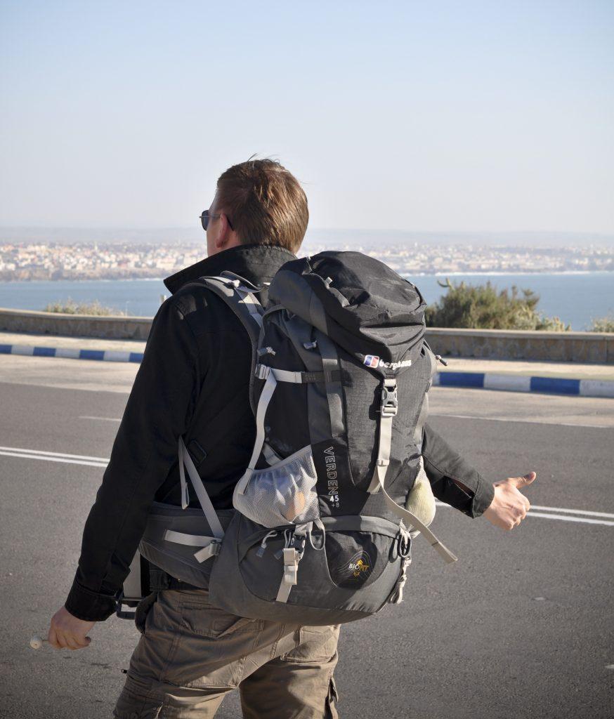 hitchhike Morocco